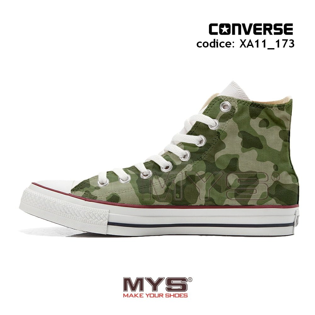 Mimetiche Star 173 Cod All Hi Make Converse Xa11 Personalizzate wC5gq00I
