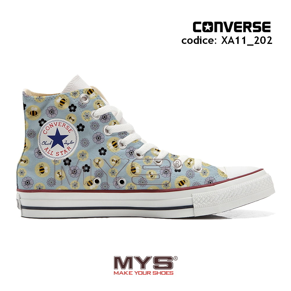 all star converse fiori